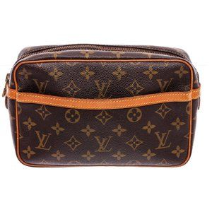 Louis Vuitton Monogram Pochette  Compiegne 23 Bag